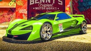 "GTA 5 ONLINE NEW DLC CAR ""PROGEN ITALI GTB"" SPENDING SPREE & CUSTOMIZATION! (GTA 5 NEW DLC CARS)"