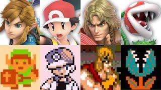 Super Smash Bros. Ultimate - Origin of All 77 Characters