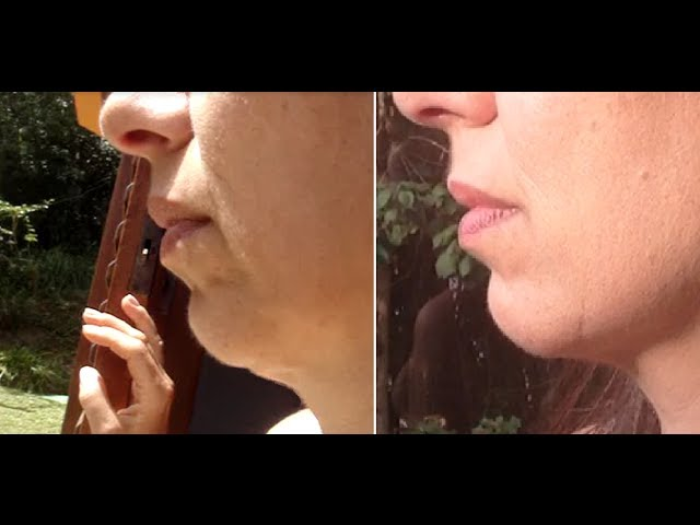 Facial Exercise to Fight Double Chin and Firm Jaw Line