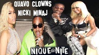 Quavo Clowns Nicki Minaj and spills all the tea