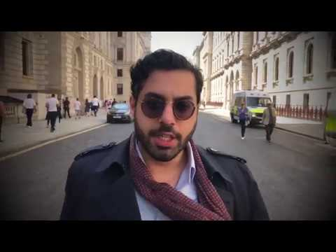 Raheem Kassam at the Day for Freedom Rally