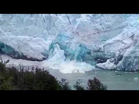 Inició ruptura glaciar moreno 2018