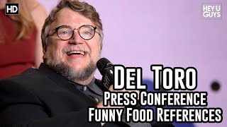 Guillermo del Toro Funny Food References - The Shape of Water