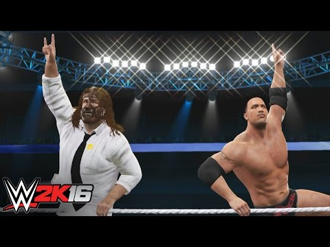 The Rock N' Sock Connection embrace the Power of Positivity: WWE 2K16 Entrance Mashup