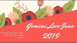 Gemini Love June 2019 ♡ Extraordinary love life this month! Ooh la la!