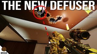 NEW Defuser In Depth Gameplay & How It Works - Rainbow Six Siege