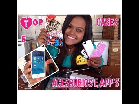 Camila Loures Top 5 Cases acessórios e apps