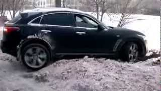 infiniti jeep fx35 snow mode