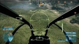 BF3 - Roller Coaster Maneuver with AH-1Z Viper