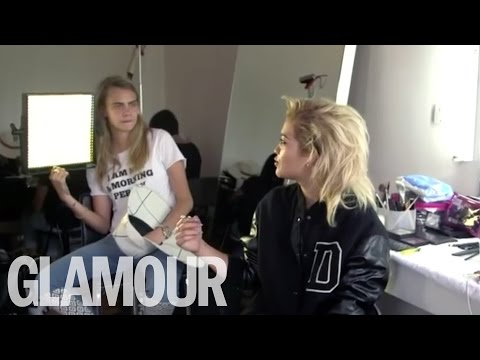 GLAMOUR #beautytalk with Rita Ora