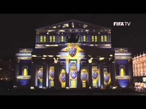 World Cup Emblem Hits the Bolshoi