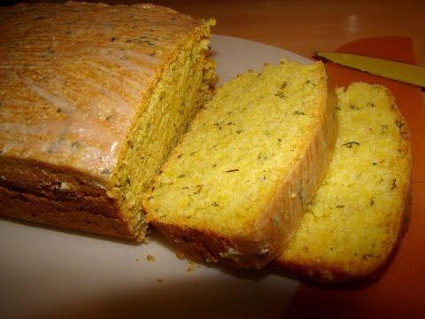 Как испечь хлеб.Рецепт хлеба кукурузного с сыром