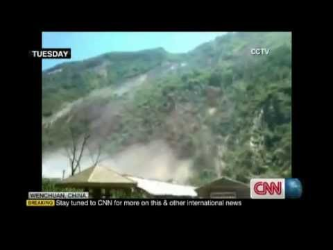 China rocked by earthquake, landslide