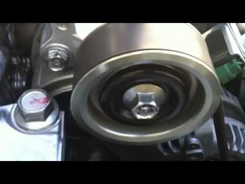 2008 Civic Si Idler Pulley Noise Youtube