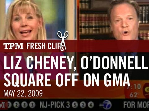 Liz Cheney and Lawrence O'Donnell Square Off on GMA