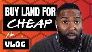 Wholesaling Real Estate | Bought Land for $250!! | Vlog 008