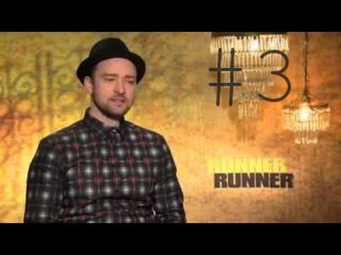 "Justin Timberlake dla ESPN na temat filmu ""Runner Runner"