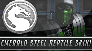 Mortal Kombat X: New Emerald Reptile Skin/Costume Gameplay - Fatalities & More! (PC Mod Showcase)