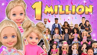 Barbie - Grace's One Million Subscribers   Ep.144