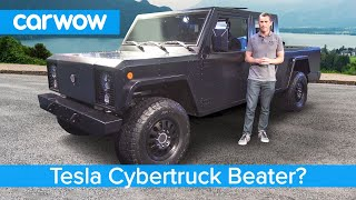 Is this a Tesla Cybertruck killer? The crazy new £100K Bollinger EV Pickup.