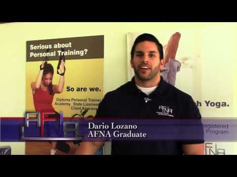 Personal Trainer Certification Testimonial - AFNA