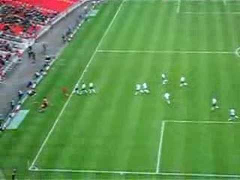 David Bentley free kick Video