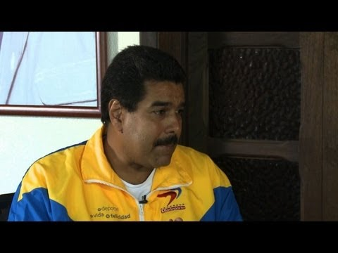 Maduro blames Chavez's cancer on