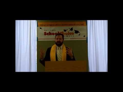 Patrick Wolf at DeLaSalle HS on How School Choice Boosts Grad. Rates (1.31.13)