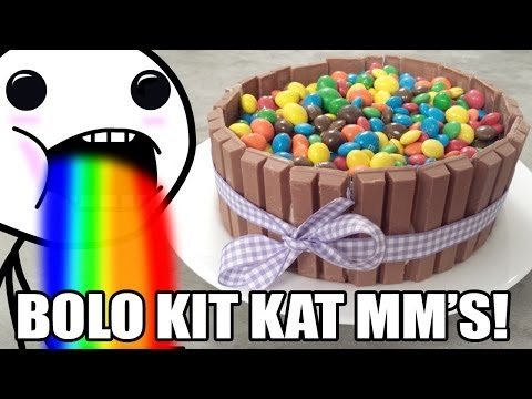 O Fabuloso Bolo De Kit Kat Com Mm's! video