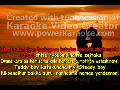 Kissxsis Tv Ed Our Steady + Lyrics+ Karaoke video