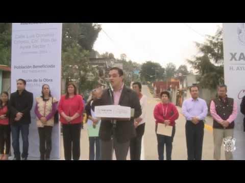 Calle Luis Donaldo Colosio, una prueba más de que Xalapa se transforma: Américo Zúñiga