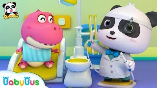Baby Panda Dentist | Doctor Pretend Play | Doctor Song | Kids Good Habits | Baby Song | BabyBus