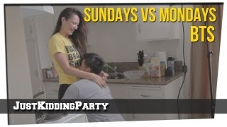 """Sundays vs Mondays"" Behind the Scenes"