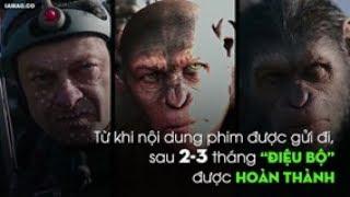 Diễn viên đóng khỉ trong [Đại chiến hành tinh khỉ] như thế nào?