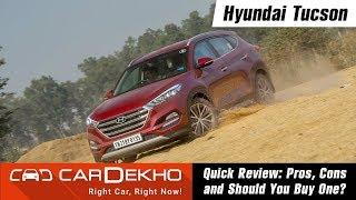 Hyundai Tucson Review | Pros, Cons & Should You Buy One? | CarDekho.com