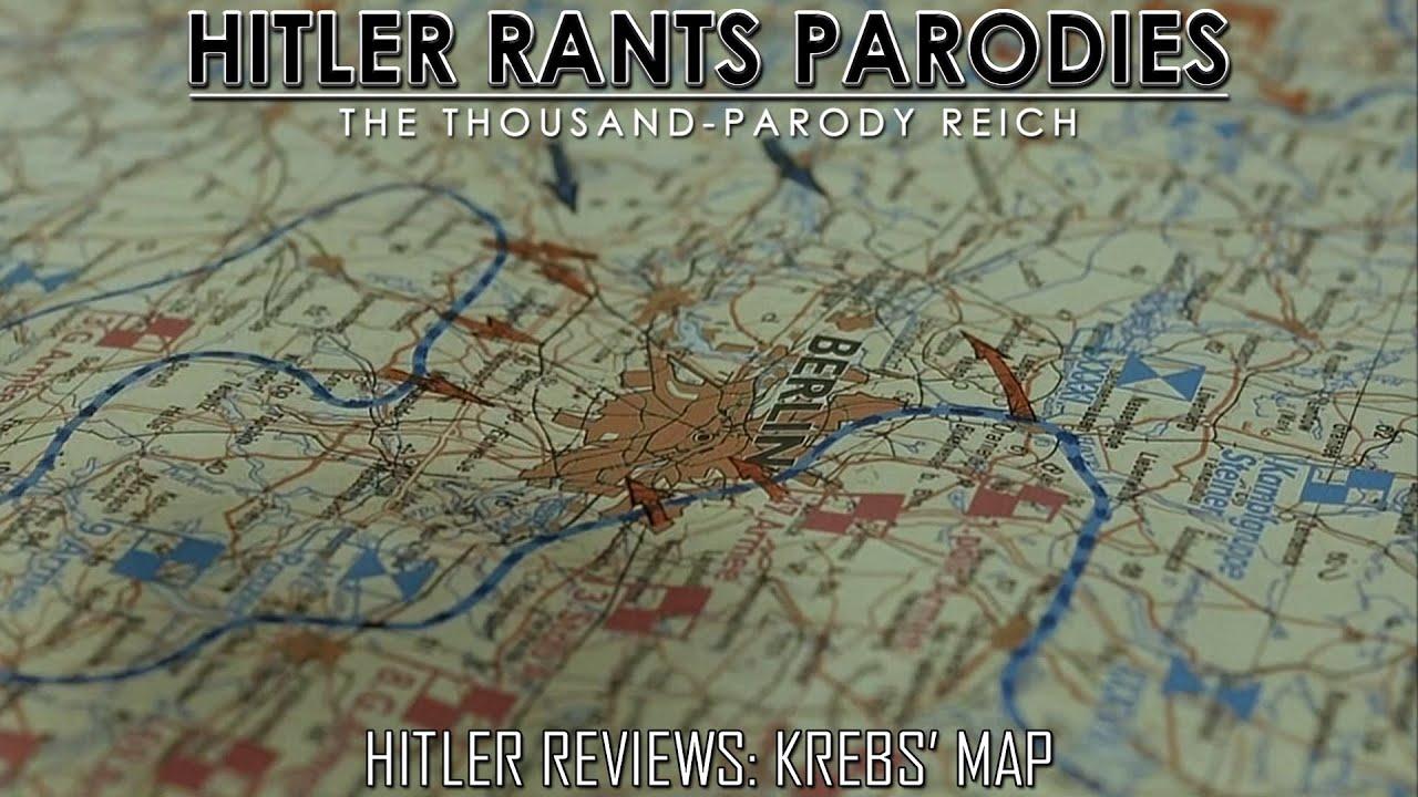 Hitler Reviews: Krebs' Map