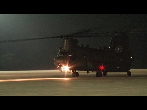 RAF Chinooks Arrive in Cyprus to Help With Iraq Aid 14.08.14