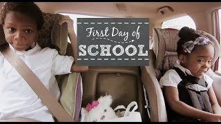 First Day Of School Blues vlog 8/18/15