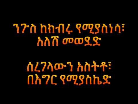Dan Admasu Mesay **LYRICS**