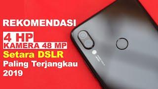 REKOMENDASI 4 HP Kamera 48MP Setara DSLR   Paling Terjangkau 2019