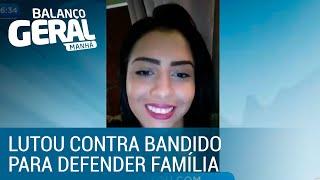 Adolescente morre ao lutar com bandido para defender a família