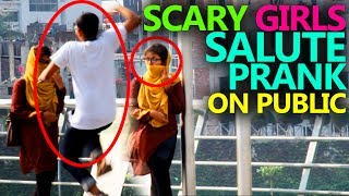 New Bangla Prank Video 2018 | Bangla Funny Video | Awkward Street Salute Prank | Madology Bangladesh