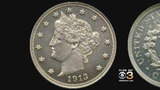 Rare Nickel Sold For $4.5 Million In Philadelphia