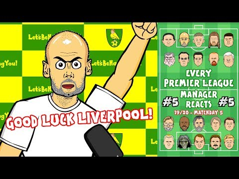 рNorwich beat Man City!р 5 Every Premier League Manager Reacts!