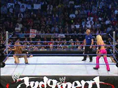 Torrie Vs Dawn Judgement Day 2004 video