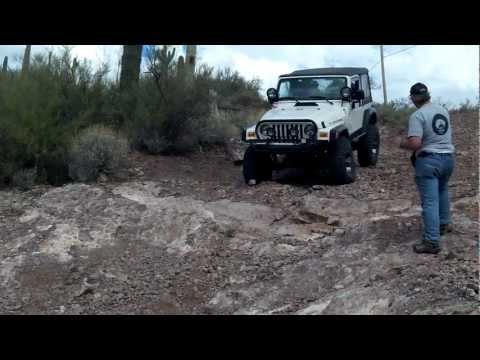 4X4Ham Downhill Obstacle, Bob and David