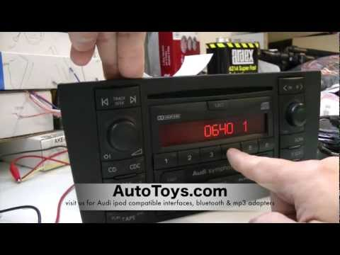 How to Unlock Audi Radio Code . READ SAFE MODE by AutoToys.com (blitzsafe vw / audi converter plug)