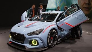 Hyundai RN30 Concept First Look - 2016 Paris Motor Show