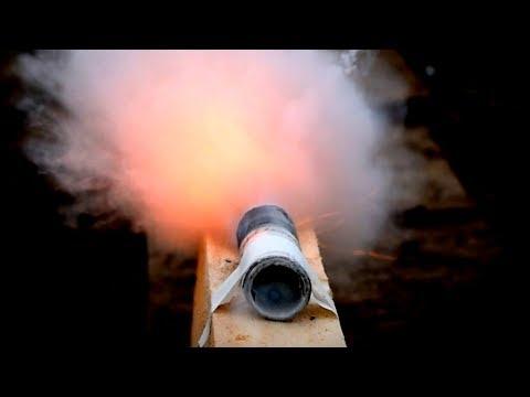 СВОИМИ РУКАМИ. Двухступенчатая ракета!