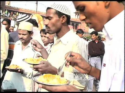 Celebrating Eid with Biryani, Delhi